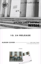 Laden Sie das Bild in den Galerie-Viewer, Golden child [Wish] 3.rd Mini Album