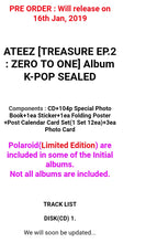 Laden Sie das Bild in den Galerie-Viewer, Ateez [Treasure ep.2] Album