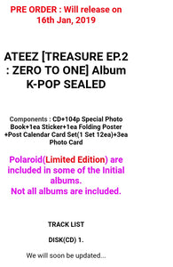 Ateez [Treasure ep.2] Album