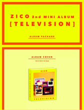 Laden Sie das Bild in den Galerie-Viewer, Block B Zico [Televison] 2.nd Mini Album