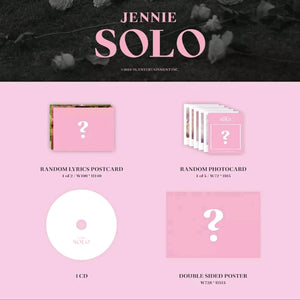 Jennie [Solo] 1.st Single Album