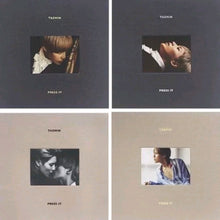 Laden Sie das Bild in den Galerie-Viewer, Shinee Taemin [Press it] 1.st Album