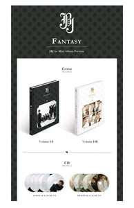 JBJ [Fantasy] 1.st Mini Album