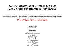 Laden Sie das Bild in den Galerie-Viewer, Astro [Dream Part 01] 4.th Mini Album