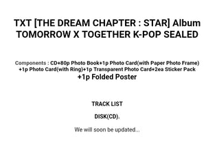 TXT [The Dream Chapter:Star] Debut Album