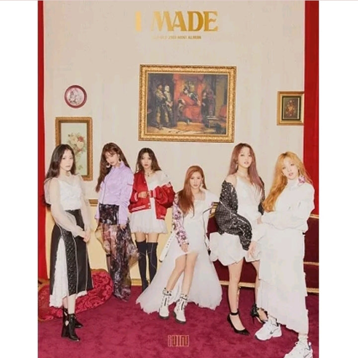 (G) i-dle [I made] 2.nd Mini Album