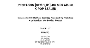 Pentagon [Demo_01] 4.th Mini Album