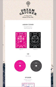 Dream Catcher [Alone in the City] 3.rd Mini Album