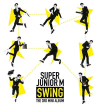 Laden Sie das Bild in den Galerie-Viewer, Super Junior-M [Swing] 3.rd Mini Album