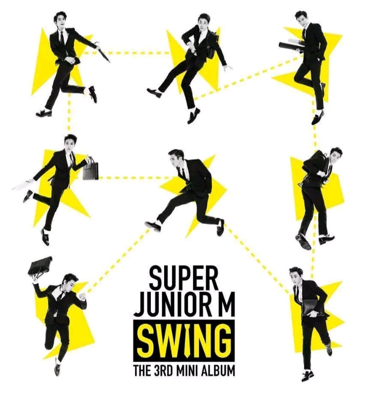 Super Junior-M [Swing] 3.rd Mini Album