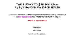 Twice [Fancy you] 7.th Mini Album
