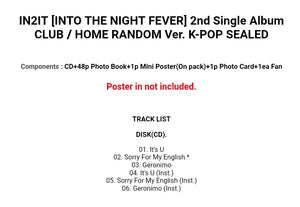 IN2IT [Into the Night Fever] 2.nd Single Album