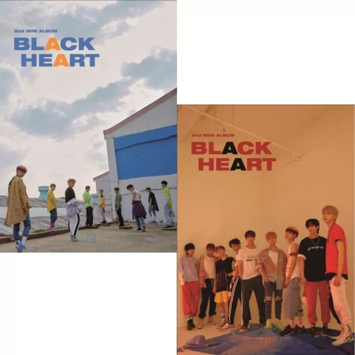 UNB [Black Heart] 2.nd Mini Album