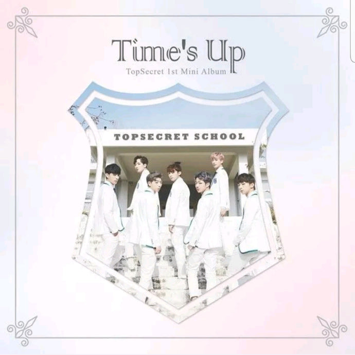 Top Secret [Time's up] 1.st Mini Album
