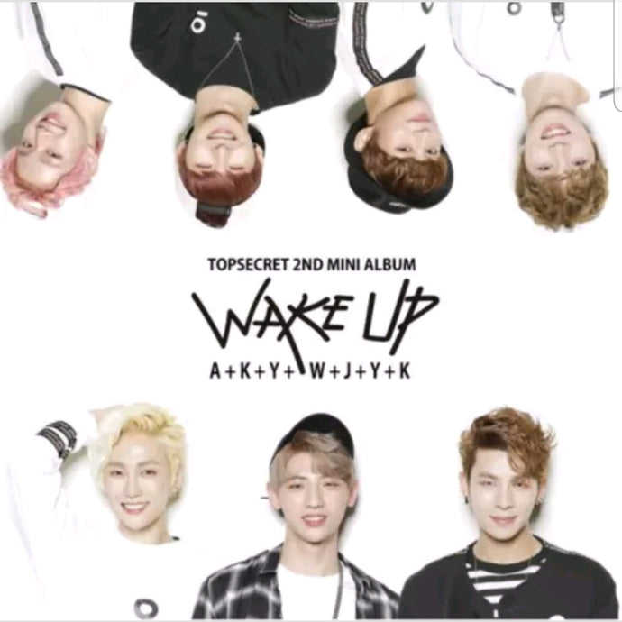 Top Secret [Wake up] 2.nd Mini Album