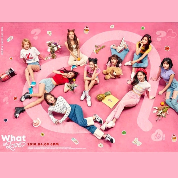 Twice What is love 5.th Mini Album A Version