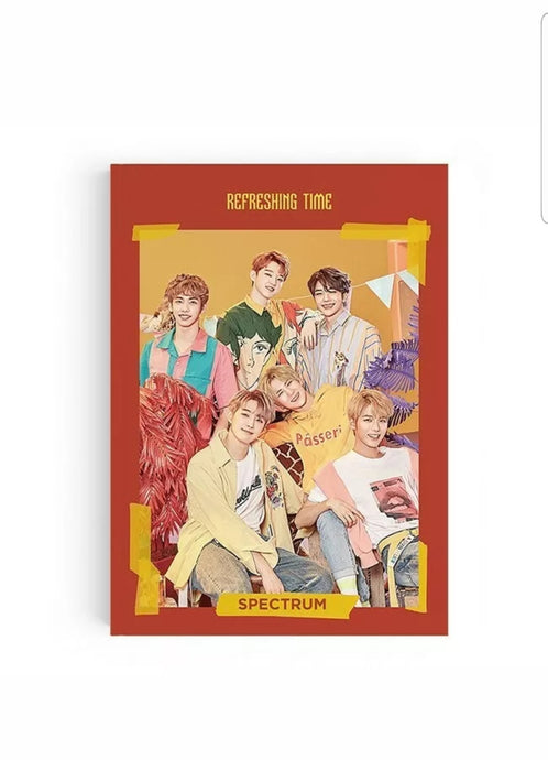 Spectrum [Refreshing Time] 3.rd Single Album