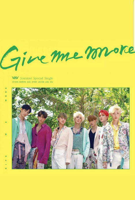 VAV [Give me more] Summer Special Single Album