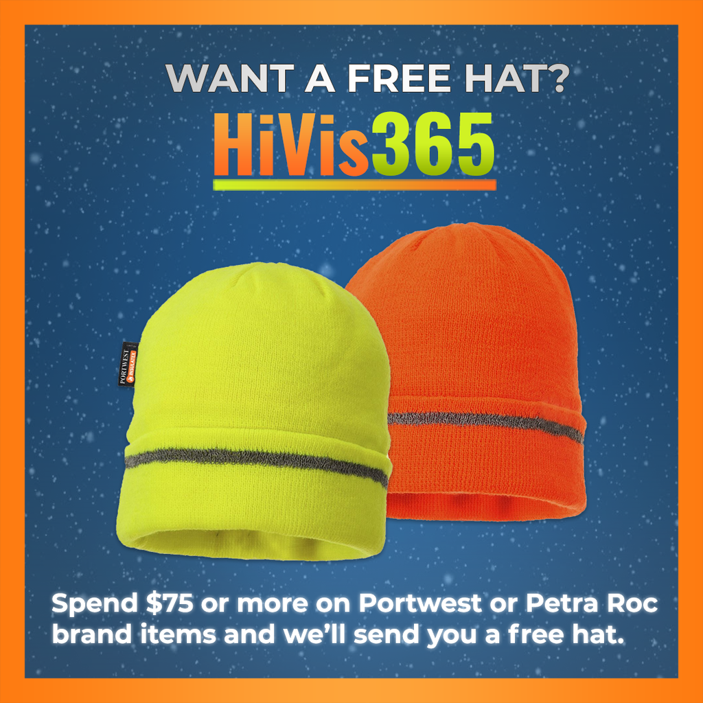 Free Winter Hat with Purchase of Select Products