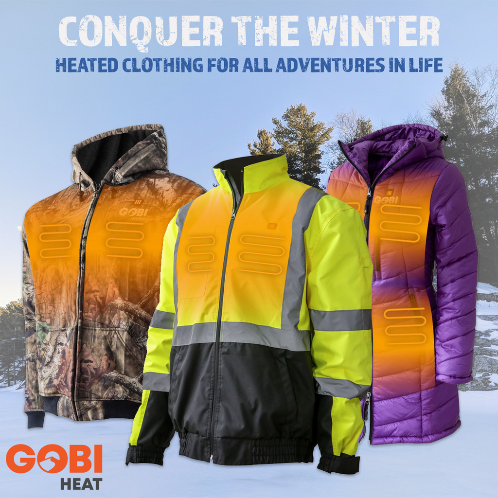 Now Offering Heated Clothing from Gobi Heat!