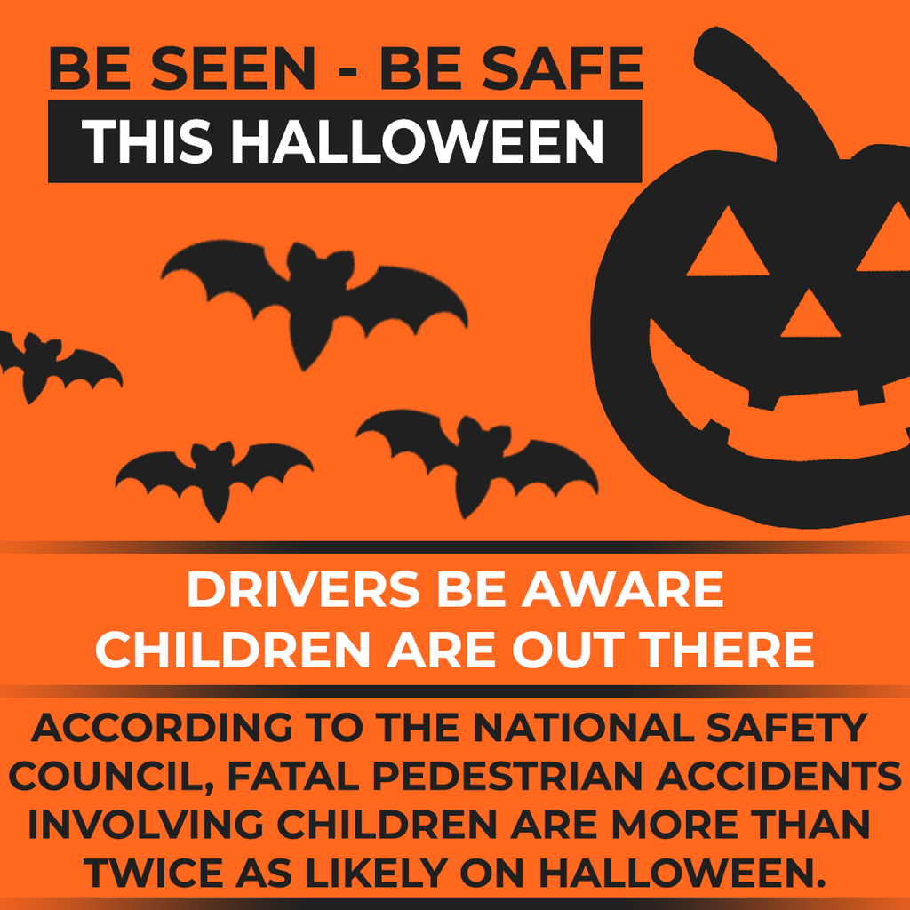 Stay Seen this Halloween with Halloween Safety Tips