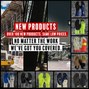 New Selection of Work Gloves to Keep Your Hands Protected At Work