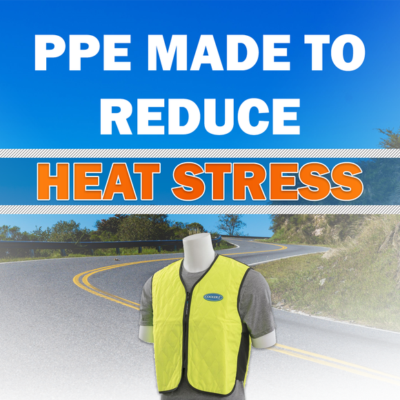 PPE that reduces heat stress