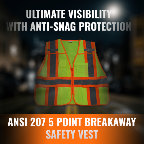 Petra Roc 5 Point Breakaway Safety Vest