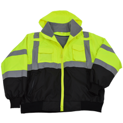 Petra Roc LBBJ-C3 ANSI Class 3 Waterproof Bomber Jacket