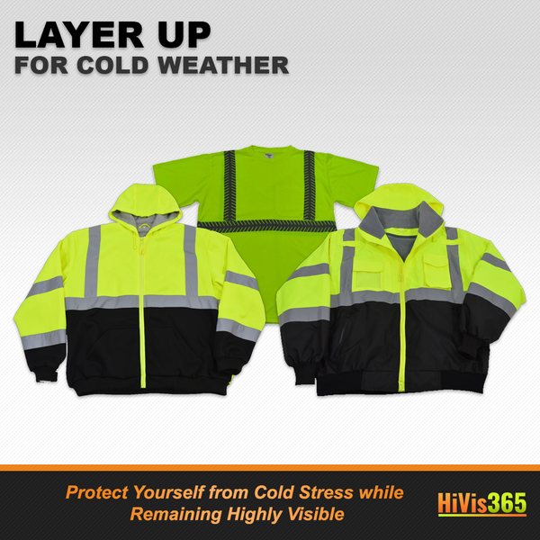Layer Up with High Visibility Clothing in Cold Weather