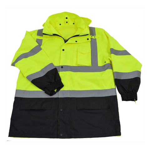 Petra Roc LBPJ3IN1-C3 ANSI Class 3 Waterproof 3-in-1 Thermal Jacket