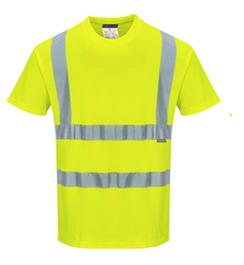 Portwest S170 Cotton Comfort Short Sleeved High Visibility T-Shirt