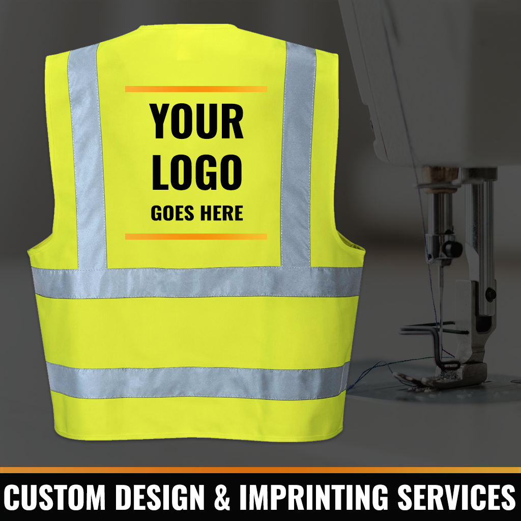 Custom Printing for High Visibility Clothing