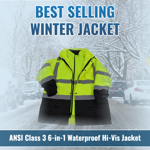 Petra Roc High Visibility 6-in-1 Winter Jacket