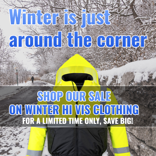 Winter High Visibility Clothing Sale