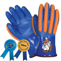 Southern Glove XP0020B Mud Dawg PVC Coated Winter Lined Impact Gloves