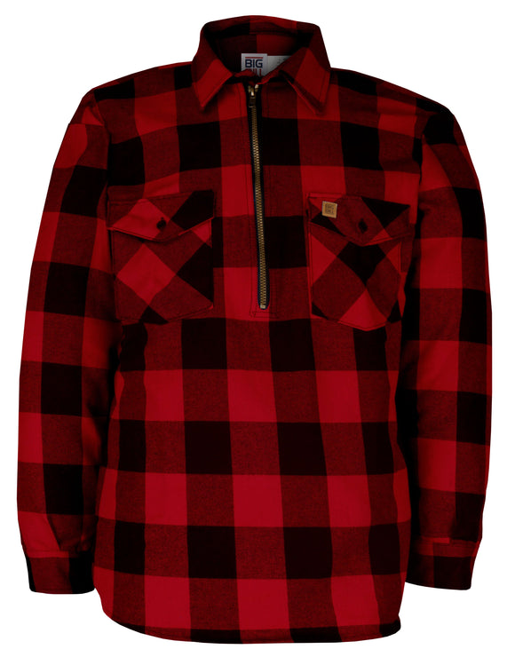 Big Bill 123 Premium Flannel Work Shirt with Zipper