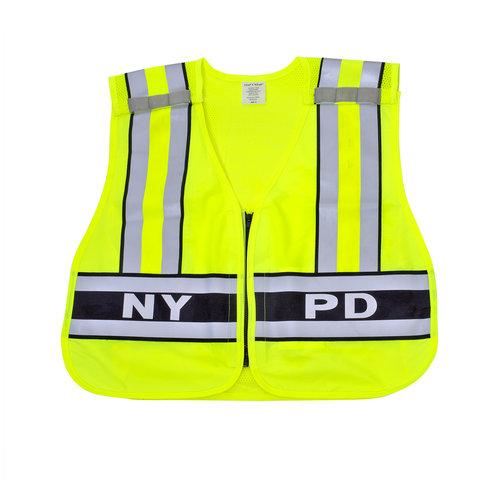 Snap N Wear 124NY ANSI Class 2 NYPD Breakaway Safety Vest