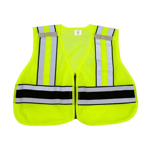 Snap N Wear 124PL ANSI Class 2 6 Point Breakaway Safety Vest