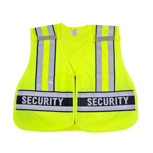 Snap N Wear 124SC ANSI Class 2 Security Breakaway Safety Vest