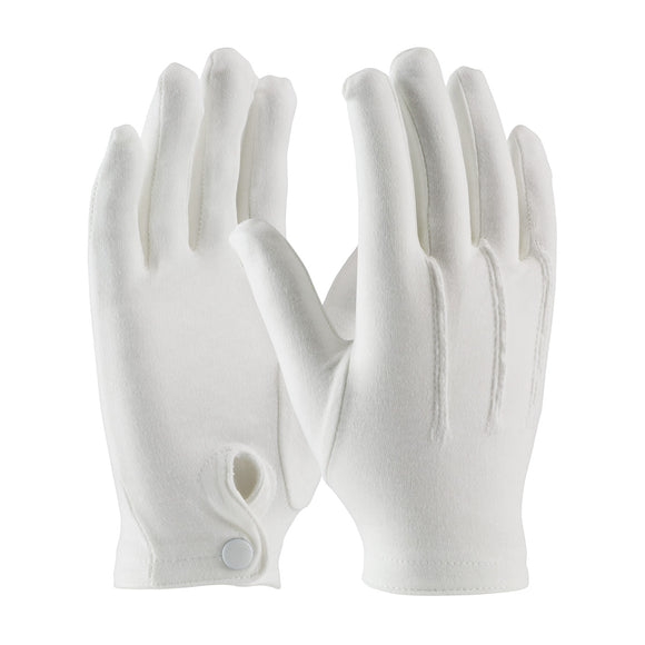 PIP 130-150WM Cotton Parade Dress Glove with Snap Closure
