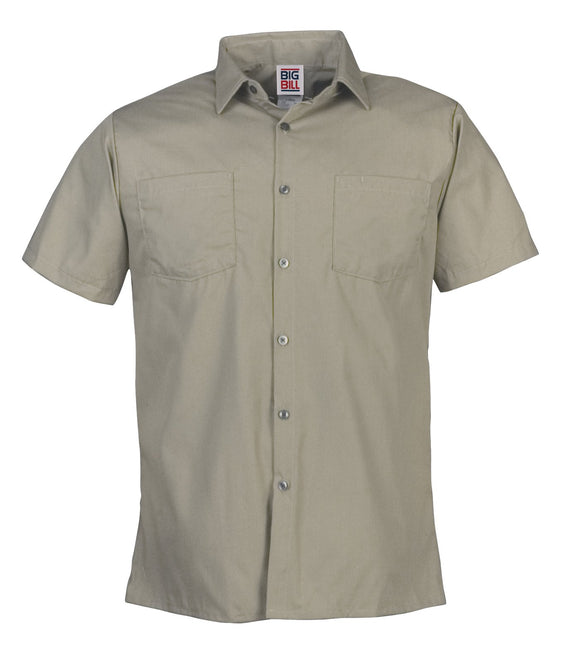 Big Bill 130 Poplin Short Sleeve Work Shirt