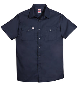 Big Bill 137 Short Sleeve Button Up Work Shirt