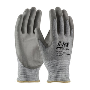 PIP 16-560 G-Tek PolyKor Seamless Knit Glove with Polyurethane Coated Smooth Grip