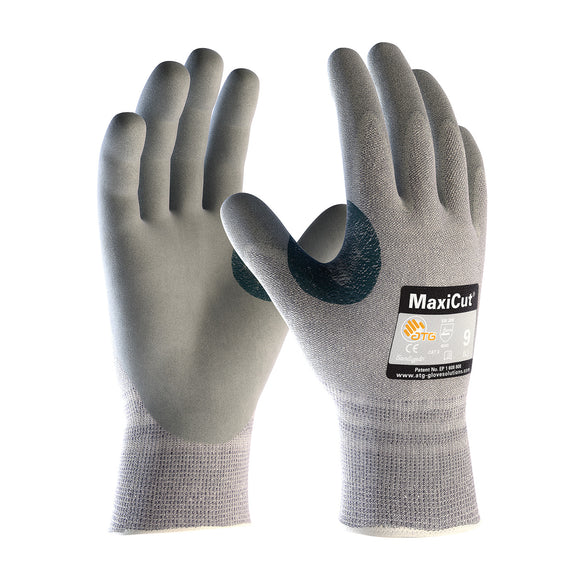 PIP 19-D470 MaxiCut Seamless Knit Dyneema Glove with Nitrile Coated MicroFoam Grip