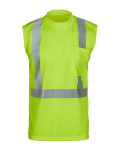 MAX Apparel MAX403 Class 2 Hi Vis Sleeveless Shirt