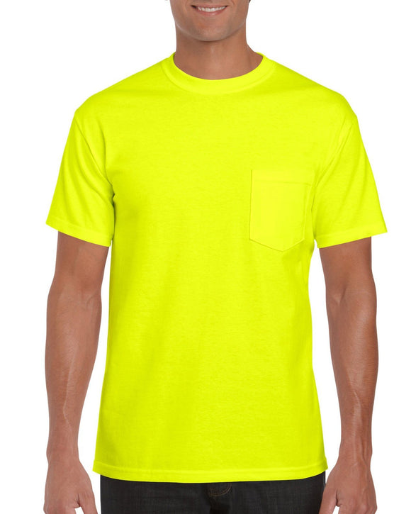 Gildan 2300 Ultra Cotton Hi Vis T-Shirt with Pocket