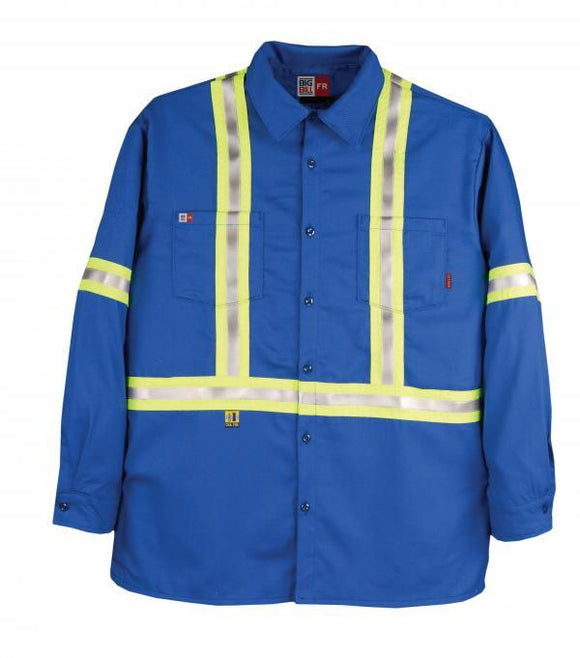 Big Bill 235US7 Hi Vis UltraSoft® Industrial Work Shirt