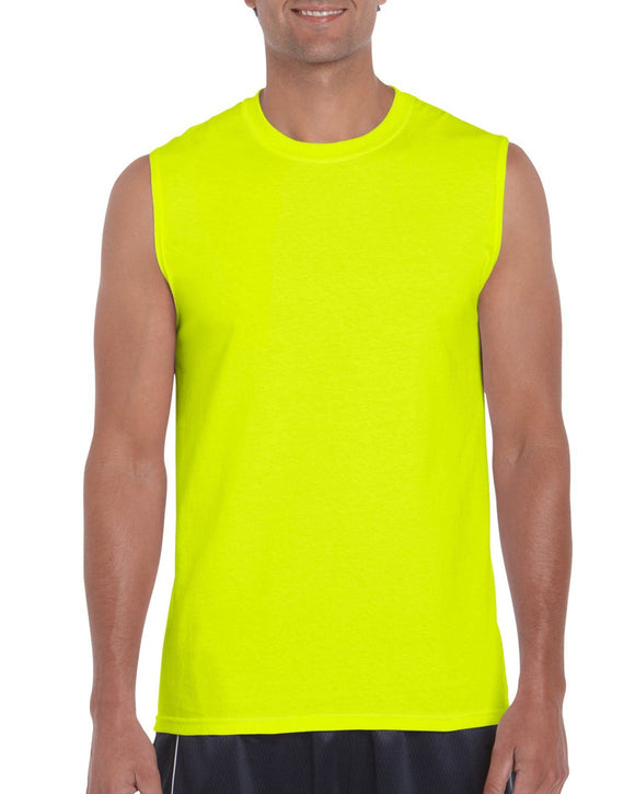 Gildan 2700 Ultra Cotton Hi Vis Sleeveless T-Shirt