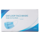 3-Ply Disposable Face Mask with Ear Loop